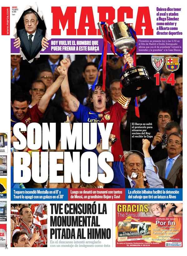 Barsa gana la Copa
